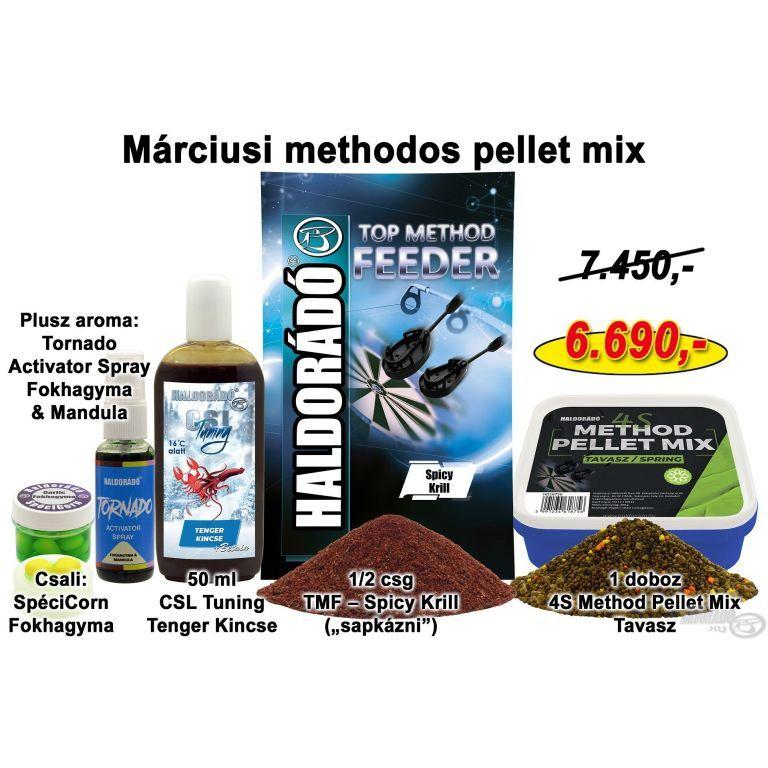 HALDORÁDÓ Tavaszi recept 2 - Márciusi methodos pellet mix