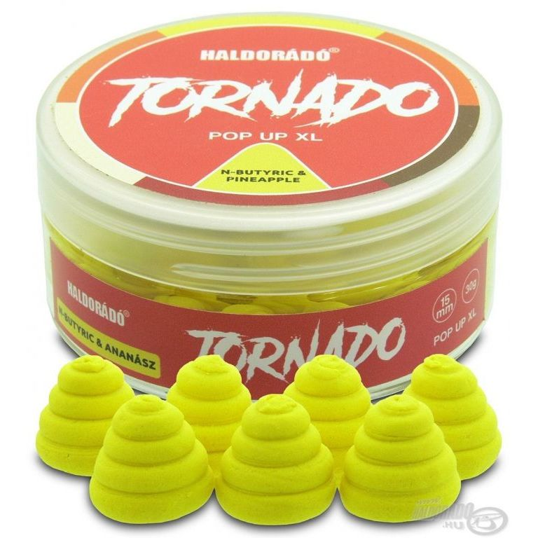 HALDORÁDÓ TORNADO Pop Up XL - N-Butyric & Ananász