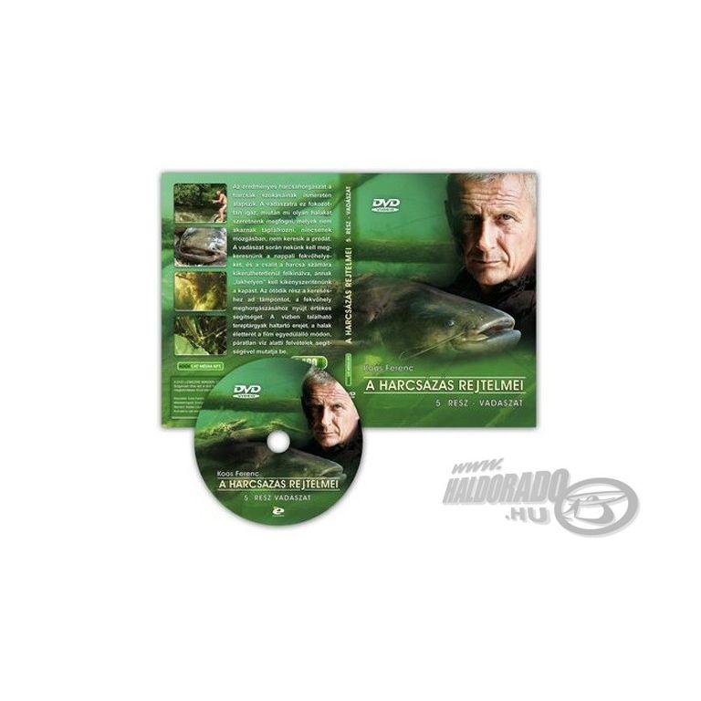Koós Ferenc A harcsázás rejtelmei 5. rész DVD