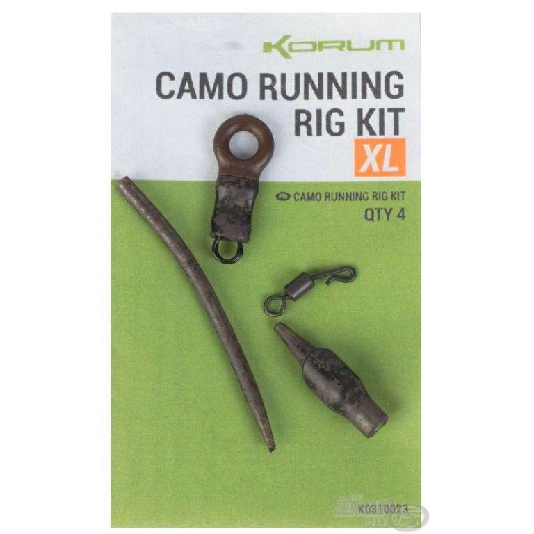 KORUM Feeder végszerelék - Camo Running Rig Kit XL
