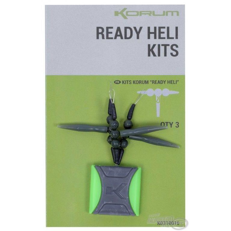 KORUM Feeder végszerelék - Ready Heli Kits