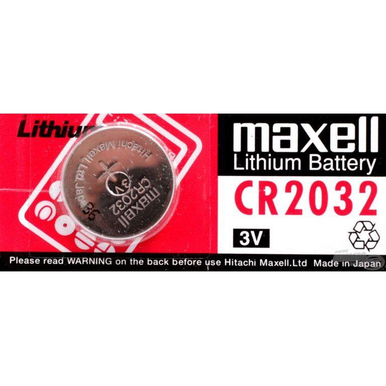 MAXELL CR2032 laposelem 3 V-os