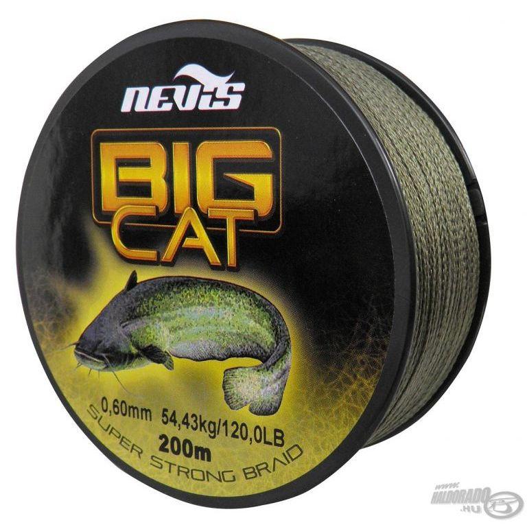 NEVIS Big Cat fonott zsinór 0,60 mm 200 m