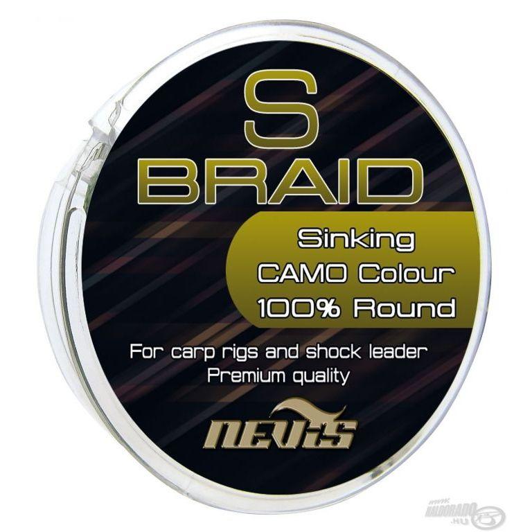 NEVIS S Braid 15 m - 0,08 mm