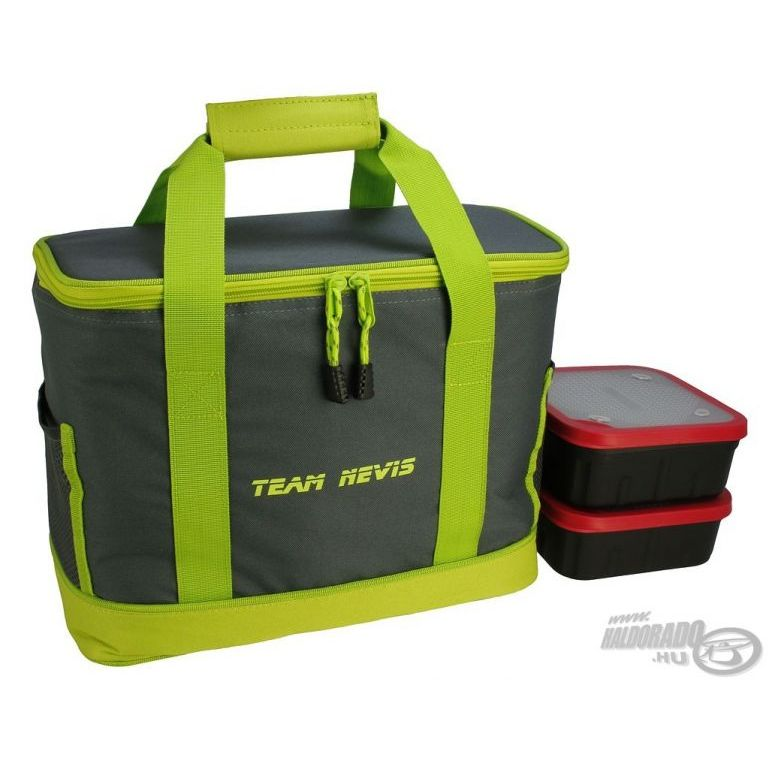NEVIS Team Nevis Csali hűtőtáska 2 db dobozzal