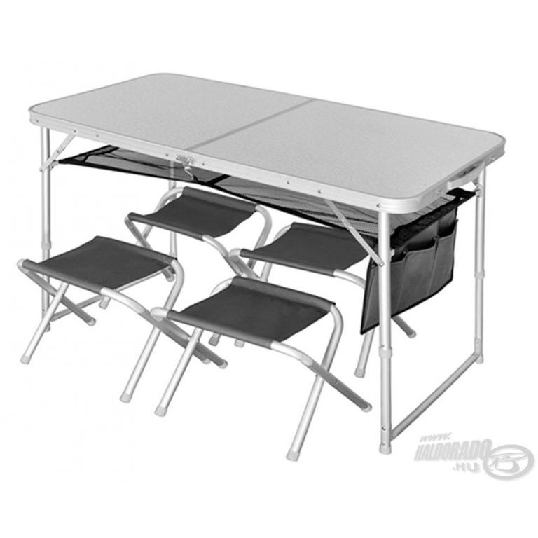 NORFIN Camping asztal székekkel