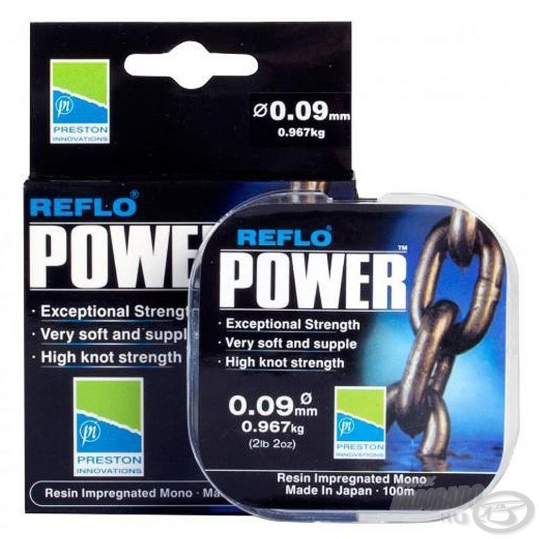 PRESTON Reflo Power 0,09 mm