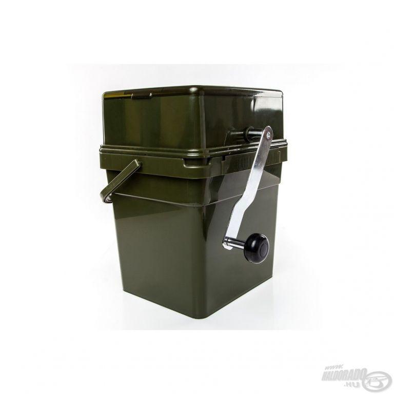 RidgeMonkey Bojlidaráló szett 17 literes vödörrel