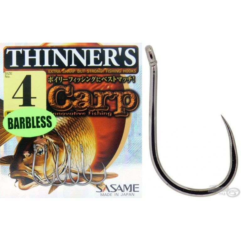 SASAME Thinner's Barbless 2