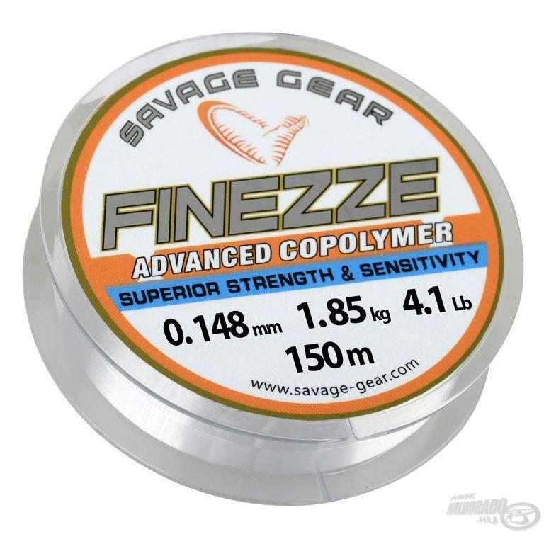 SAVAGE GEAR Finezze Mono Clear 150 m - 0,331 mm