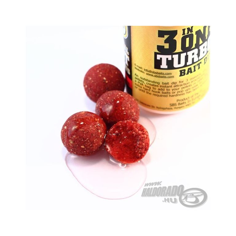 SBS 3 in One Turbo Bait Dip Squid&Octopus 80 ml