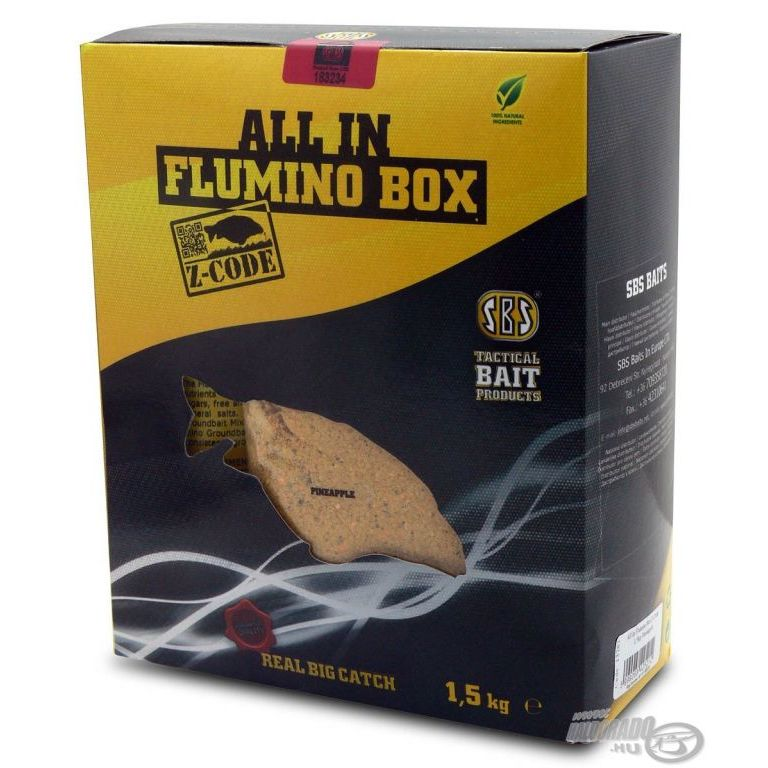 SBS All In Flumino Box Z-Code - Undercover