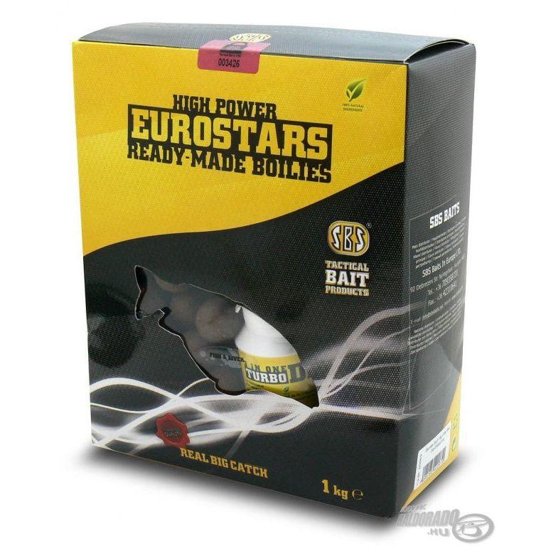 SBS EuroStar bojli+ajándék dip Plum Shellfish