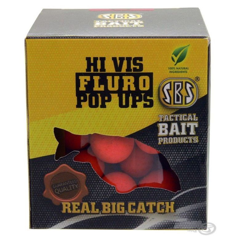 SBS Hi Vis Fluro Pop Up bojli Cranberry 16-20 mm
