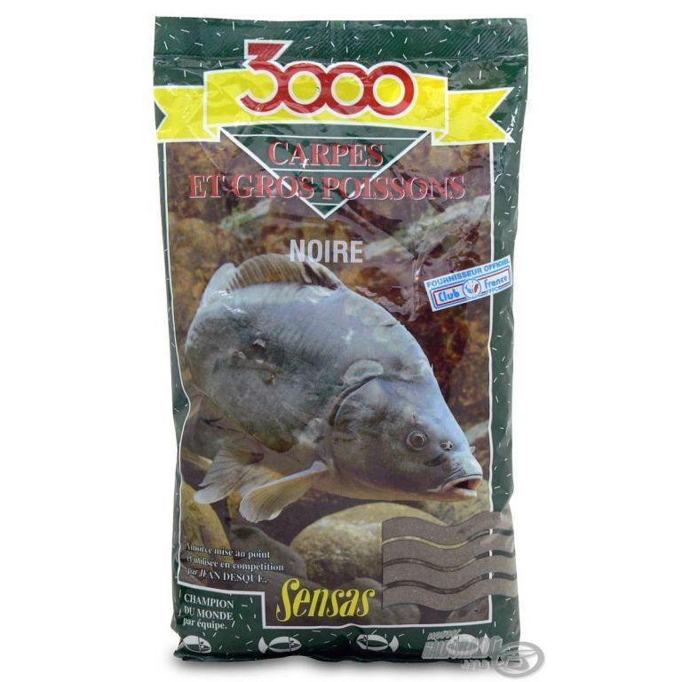SENSAS 3000 Carpes Noire