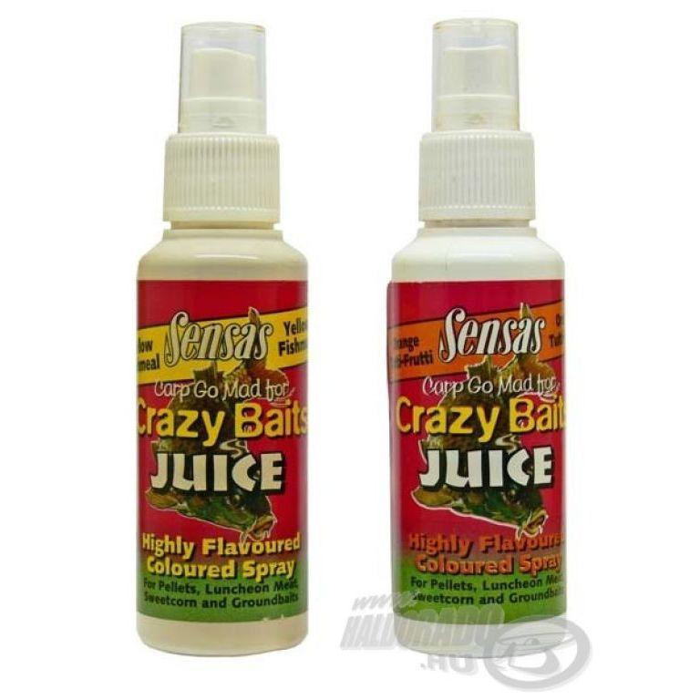 SENSAS Crazy Baits Juice Red Strawberry