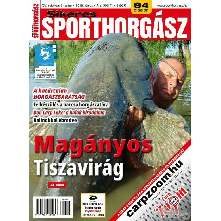 Sikeres Sporthorgász 2019. június