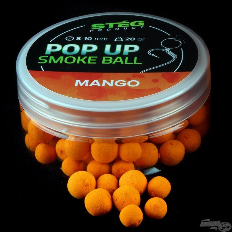 STÉG PRODUCT Pop Up Smoke Ball 8-10 mm - Mango
