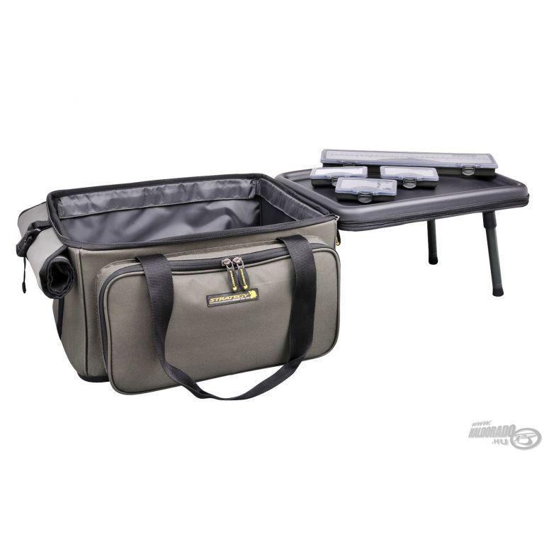 STRATEGY Szerelékes táska beépített asztallal - Haldorádó horgász áruház 1b1848bb2c