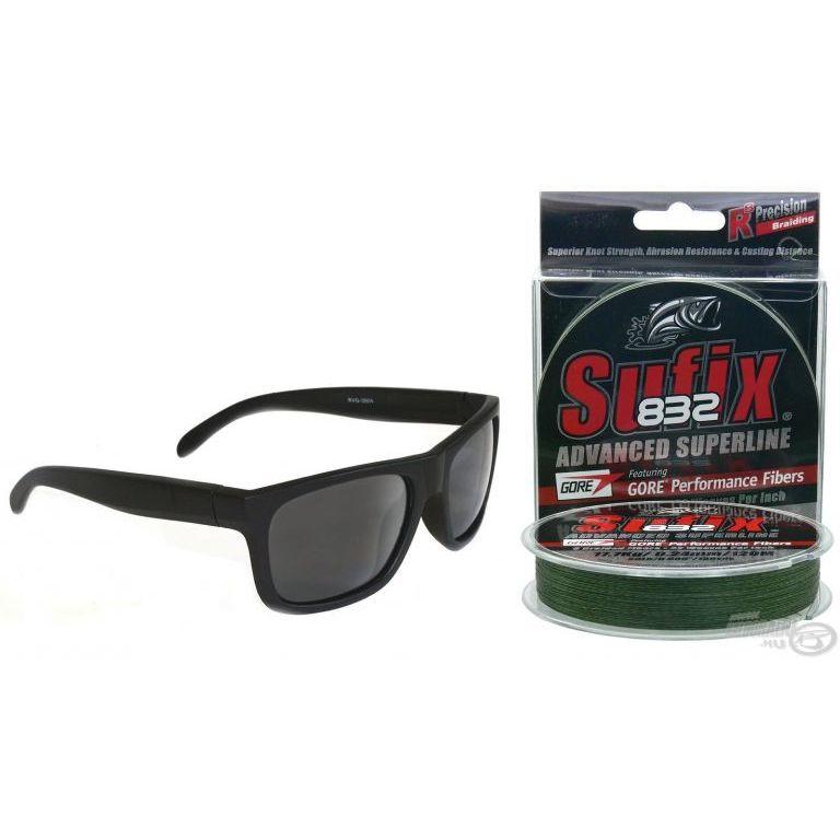 SUFIX Gore 832 - Zöld 0,13 mm + Napszemüveg