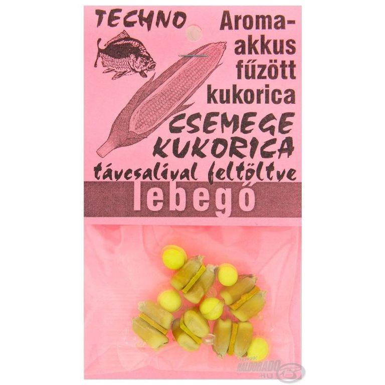 TECHNO Aroma akkus fűzött kukorica lebegő - Csemege kukorica