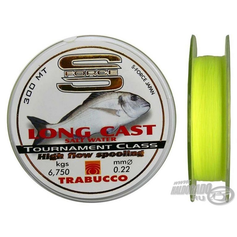 TRABUCCO S-Force Long Cast 0,18 mm