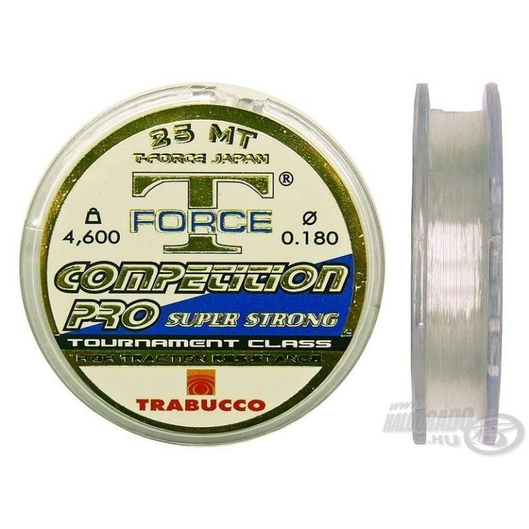 TRABUCCO T-Force Competition Pro 25 m 0,12 mm
