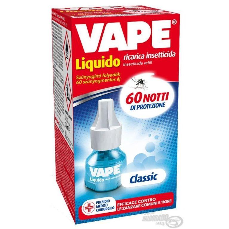 VAPE Classic Szúnyogriasztó folyadék utántöltő